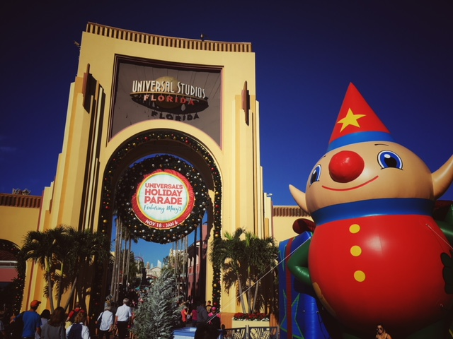 It's Christmas time at Universal Orlando Resort